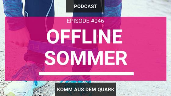 Sommerpause Offline