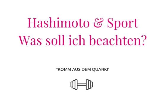 Hashimoto und Sport