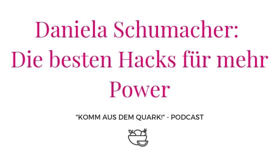 Daniela Schumacher: Die besten Hacks für mehr Power